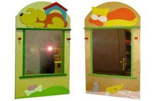 Зеркало в детский сад своими руками